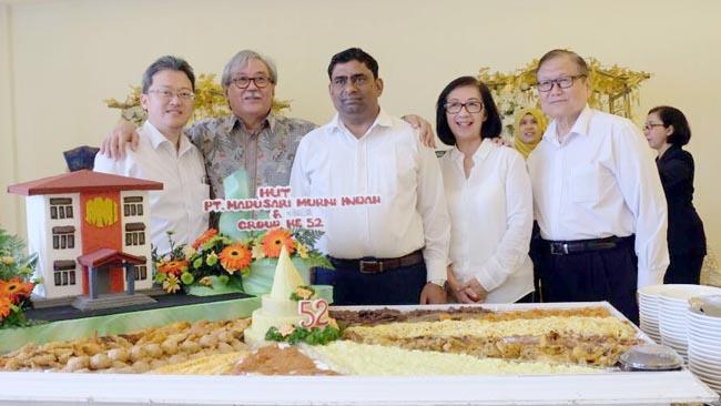 Jajaran Komisaris dan Direktur PT Madusari Murni Indah (MMI). (ist)
