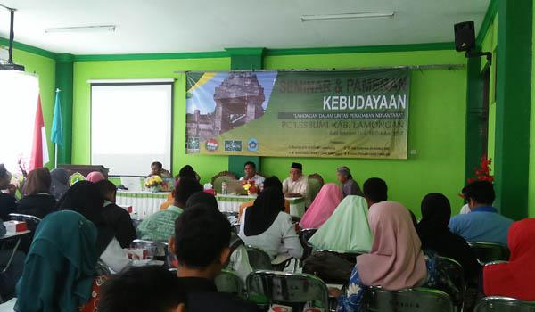 Tangkal Gempuran Budaya Asing,   PC Lesbumi Lamongan Gelar Pameran Kebudayaan
