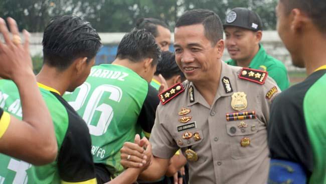 Babak 16 Besar, Kapolres Mojokerto dan Jajaran Jadi Pemain ke 12