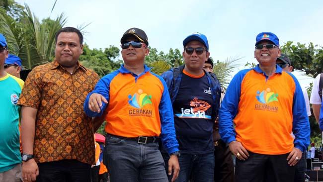 Festival Sungai, Dandim 0818 Bersama Bupati Malang Kunjungi Pantai Ungapan