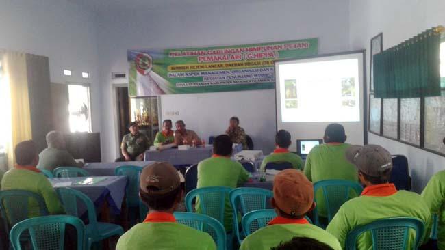 Dukung Peningkatan Produktivitas Pertaniani, Bati Wanwil dan Babinsa Koramil 081512 Ngoro Ikuti Pelatihan GHIPPA