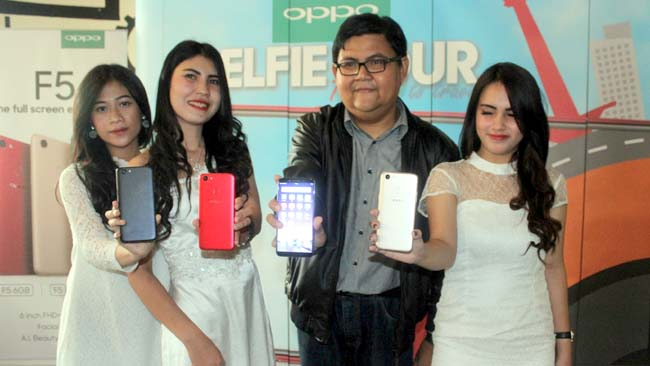 Selfie Tour with OPPO F5 Hadirkan F5 Series