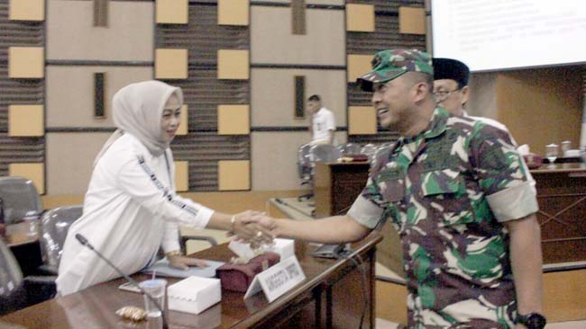 Dandim 0818 Kab Malang-Batu Hadiri Rapat Paripurna DPRD Kabupaten Malang 2018