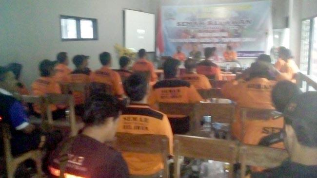Danramil 081515 Jatirejo Berikan Motivasi Relawan Semar