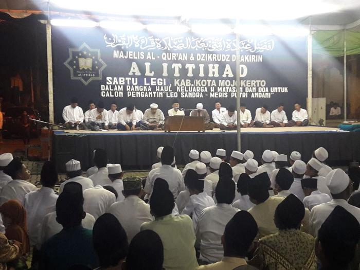 Danramil Ngoro hadiri kegiatan sema'an Al-quran