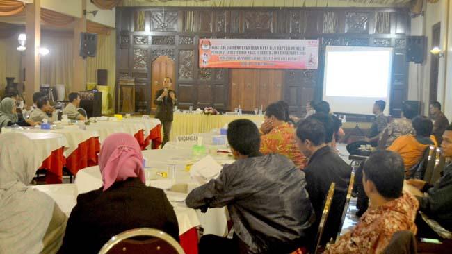 KPU Kota Blitar Sosialisasi Pemutakhiran Data Daftar Pemilih Pilgub Jatim 2018