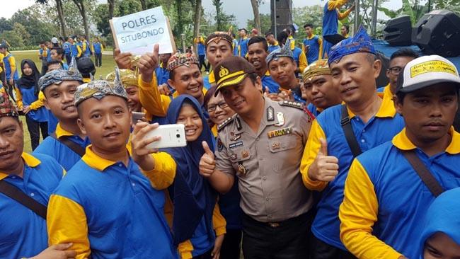 Anti Hoax Lawan Kebencian, Netizen Situbondo Ikut Jambore Polda Jatim