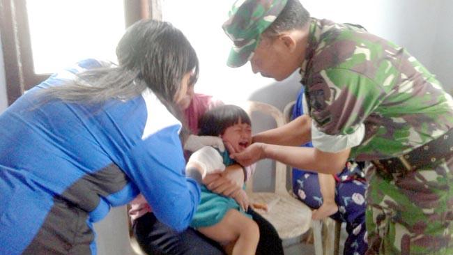 Gelar Imunisasi Difteri Kepada 110 Anak Usia Dini