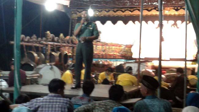 Apa Pesan Danramil Puri saat Ruwat Dusun Trenggumung