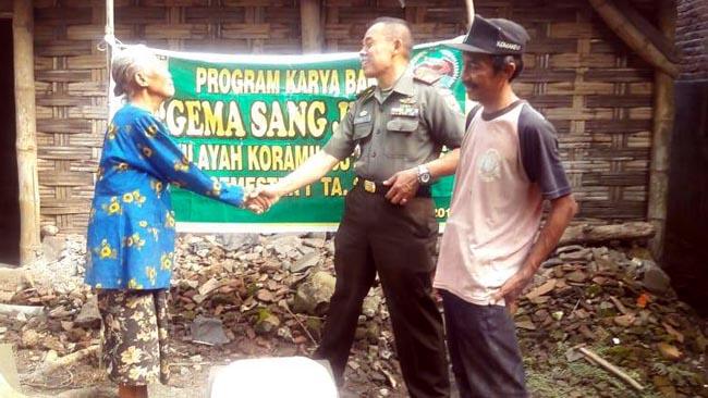 Danramil Jetis Tinjau Lokasi Karya Bakti Program Jambanisasi