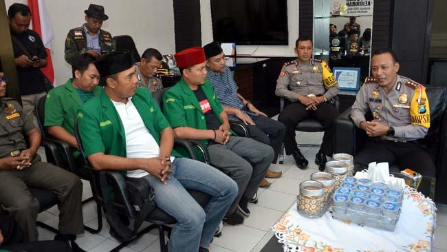 Ansor Situbondo Dukung Tindak Tegas Teroris dan Bela Sungkawa untuk Polri