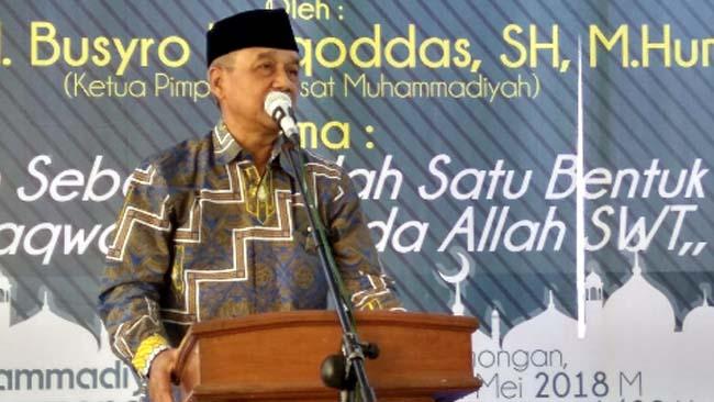 Busyro Muqoddas Tegaskan Saatnya Berpolitik dengan Akhlakul Karimah, Jangan Terima Money Politic