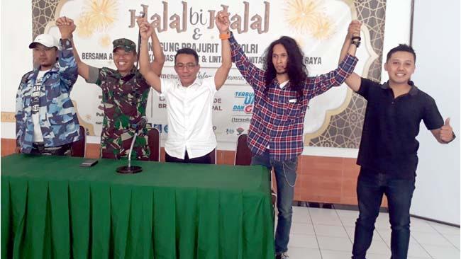Halal Bi Halal TNI Polri, Suguhan Terbaik Bagi Warga Malang Raya