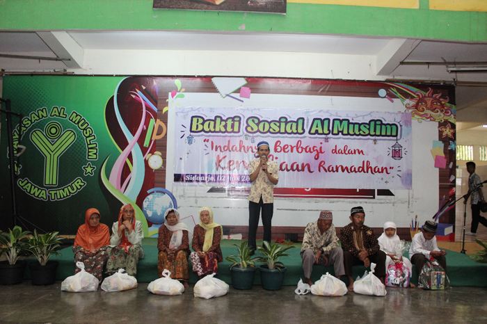 Ratusan Dhuafa dan Yatim Doa Bersama di Al Muslim Untuk Keselamatan Bangsa