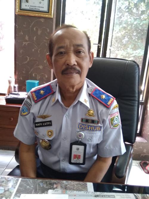 H.Hafi Lutfi,Kepala Dinas Perhubungan Kabupaten Malang(Sur)