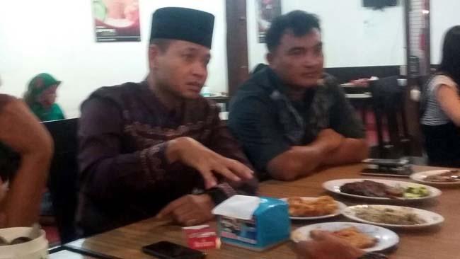 Jalin Silaturahmi Dandim 0815 Mojokerto Buka Bersama Awak Media