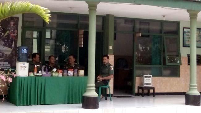 Kodim 0815 Mojokerto Siapkan Rest Area Bagi Pemudik