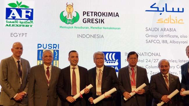 Petrokimia Gresik Raih IFA PROTECT & SUSTAIN 2018, Penghargaan dan Sertifikasi Level Dunia