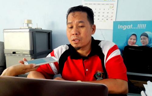 Kepala Seksi Surveilan dan Imunisasi Dinas Kesehatan Kabupaten Blitar Hendro Subagyo