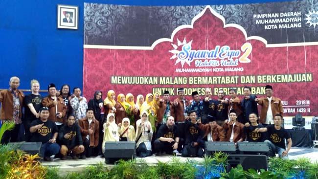 Syawal Expo 2 Muhammadiyah Dihadiri DPR RI, Walikota Malang, Dimeriahkan Debu