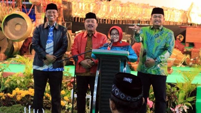 Wahyu Makutoromo Turun di Jombang, Tutup Kegiatan HUT Bhayangkara ke -72 Polres Jombang
