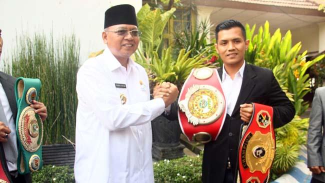 Bupati Malang Lepas Hero Tito, Perebutkan Gelar WBC Asia di China