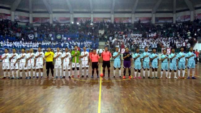 Final Turnamen Futsal Piala Kapolres Jember Cup 2018 , Tim Umum Satlantas Raih Juara I