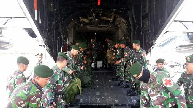 TNI Kirim Batalyon Kesehatan Bantu Korban Gempa Lombok