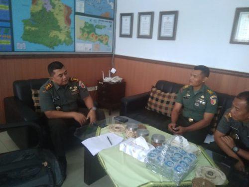Komandan Kodim (Dandim) 0818 wilayah Kabupaten Malang dan Kota Batu, Letkol Inf. Ferry Muzawwad, S.I.P(Sur)