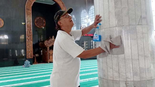 Korps Bersih Masjid, Siap Beraksi di Kediri