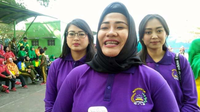 Pererat Persaudaraan, Bhayangkari Makota Gelar Turnamen Volly Wanita