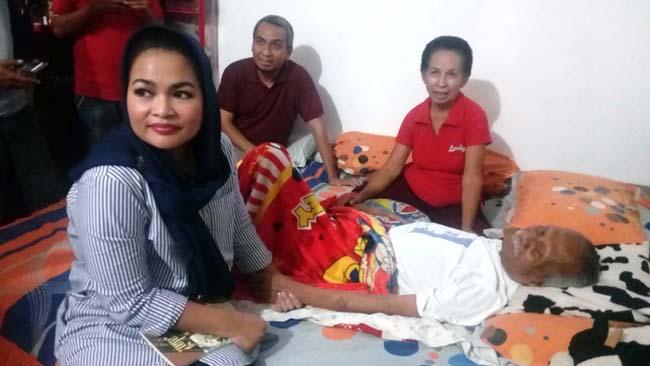 Puti Sambangi Peter A Rohi, Terkesan Rencana Pembuatan Film Sejarah Bung Karno