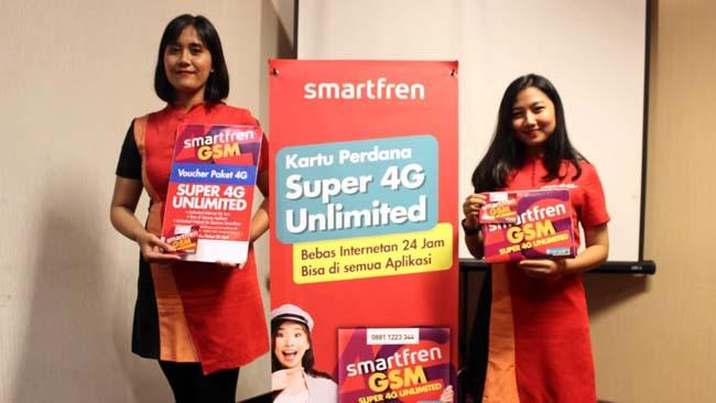 Smartfren Luncurkan Super 4G Unlimited dan Super 4G Kuota