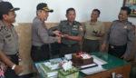 Kapolsek Magersari Sambangi Koramil 0815/19 Magersari, Wujud Sinergitas TNI-POLRI