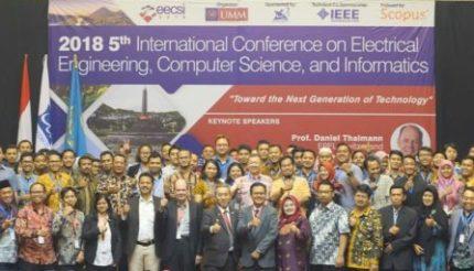 UMM Tuan Rumah EECSI, Bahas Relasi Manusia dan Teknologi di Masa Depan