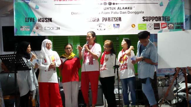 Konser Pegiat Seni dan Wartawan Jember galang Dana Korban Bencana di Palu