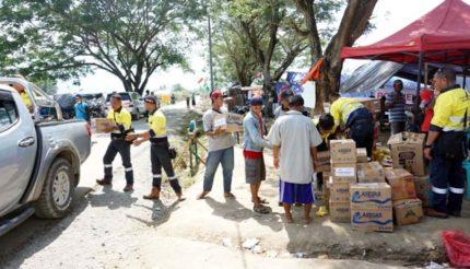 Tim ERT PT. BSI Berikan Bantuan Logistik untuk Korban Gempa Kabupaten Sigi