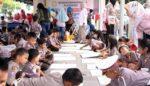 HKG Bhayangkari ke 66, Puluhan Anak TK Ikuti Lomba Mewarnai