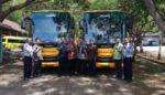Trenggalek Terima 2 Bus Sekolah dari Kementerian Perhubungan