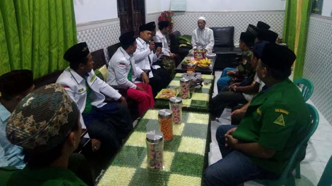 Jaga Tradisi NU, Rijalul Ansor Silaturohim ke Tokoh-tokoh NU