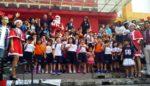 Nikmatnya Siswa TK-SD Sarapan Bareng Santa di Matos
