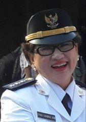 Dyah Ekawati Nicotiana SH.MSi Camat Karangploso. (H.Mansyur Usman/Memontum.Com)