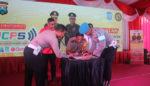 Polres Bangkalan Launching SIM Keliling, SIM Kerapan SKCK Keliling serta Bangkalan Cashless Payment System