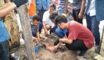 KKN Unitomo, Sosialisasikan Pengurangan Resiko Bencana di Pasar Larangan Sidoarjo