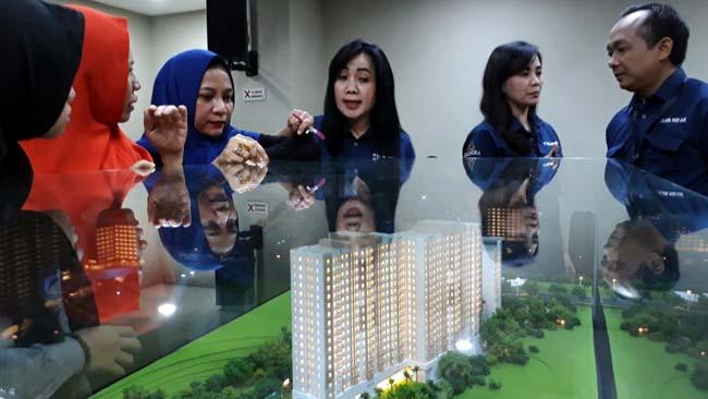 Apartemen Bernuansa Hotel Berbintang, The Kalindra Banjir Pembeli