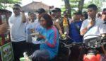 Menteri Susi Doyan Bakso Jalanan