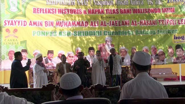 Sayyid Amin dari Lebanon Berdoa di Jember Bersama Ribuan Santri