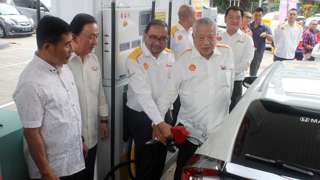 Kenalkan BBM Shell Super dan V-Power, SPBU Shell Hadir di Kawi dan Lawang
