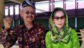 Peringati Hari Kartini, Ratusan Wanita Dampit Senam Pake Kebaya