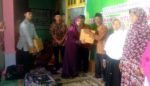 Musfarina Thoriq Santuni Janda dan Duda serta Kaum Dhu'afa Banjarwaru